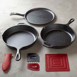 Lodge Cast Iron, Lodge Cookware & Lodge Pans | Williams-Sonoma
