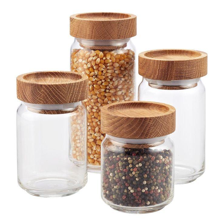 Kitchen Storage Bottles: 25+ Best Glass Canisters Ideas On Pinterest