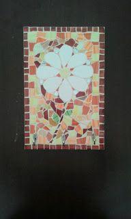 Telas Abstratas para decorações de ambientes. Decore com arte! Temos Aulas de pintura também. : Mosaico Flor