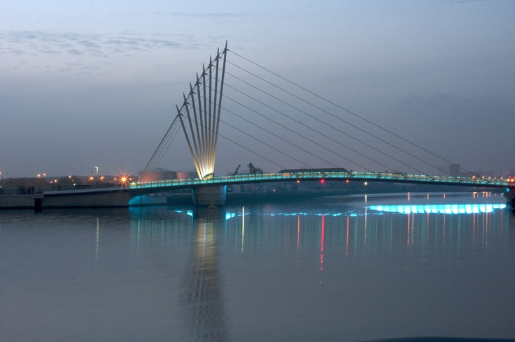 Media City Bridge, Manchester