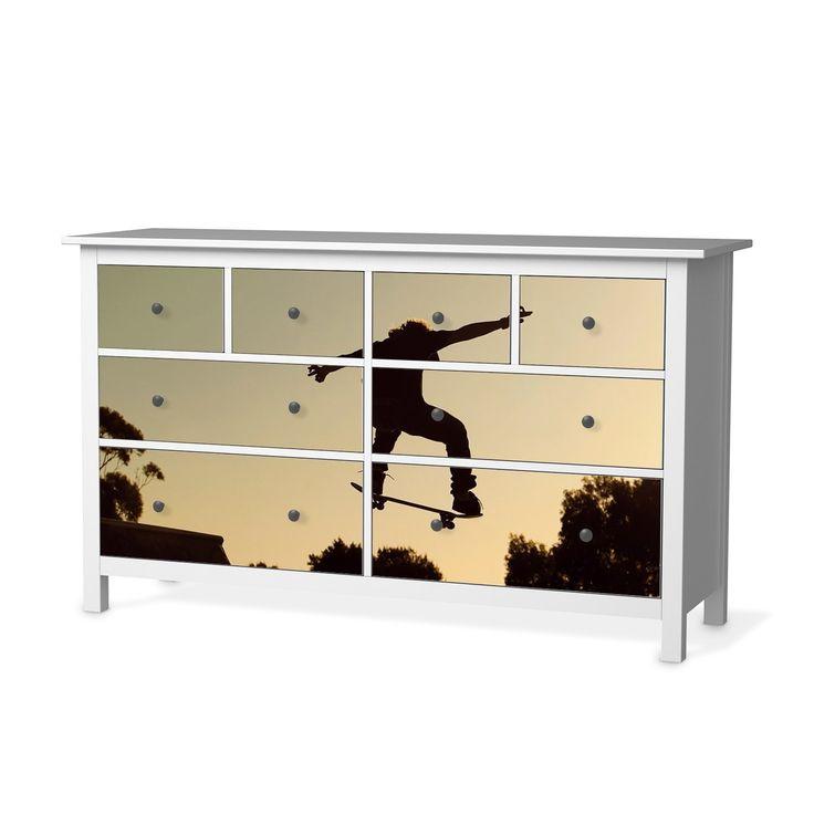 Möbel Sticker Folie Für IKEA Hemnes Kommode 8 Schubladen | Designfolie  Klebefolie Möbeltattoo | Inneneinrichtung