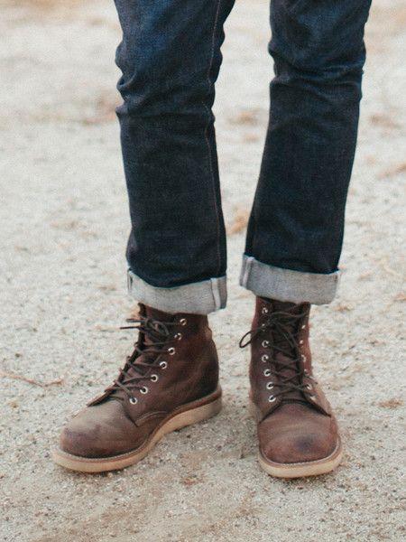 chippewa boots - crazy horse