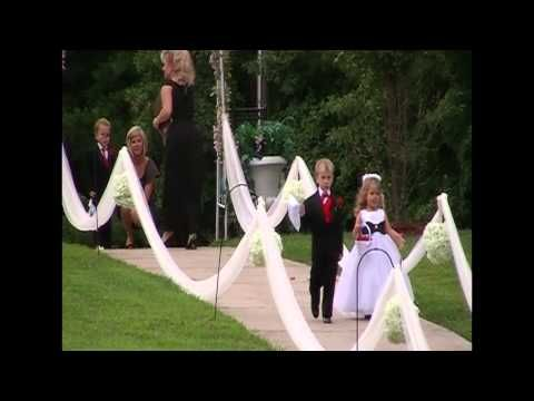 amazing wedding entrance! braid paisley waitin on a woman was recorded to be played at this moment! :)