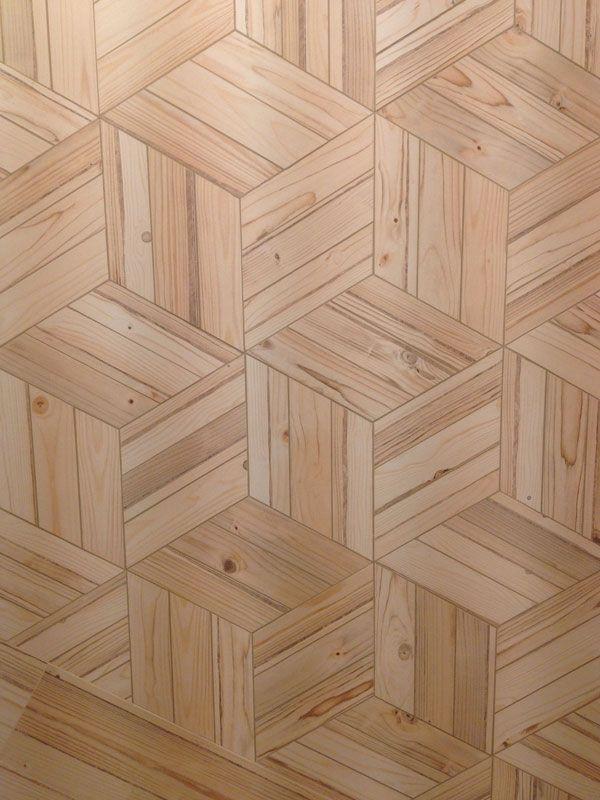 Honeycomb Fremont Natural 44,5x38cm. | Floor Tiles Porcelain | VIVES Azulejos y Gres S.A. wood-effect hexagons. #tiles #porcelain #wood-effect #castelnautiles #hexalove #hextiles #hexagon #interiordesign
