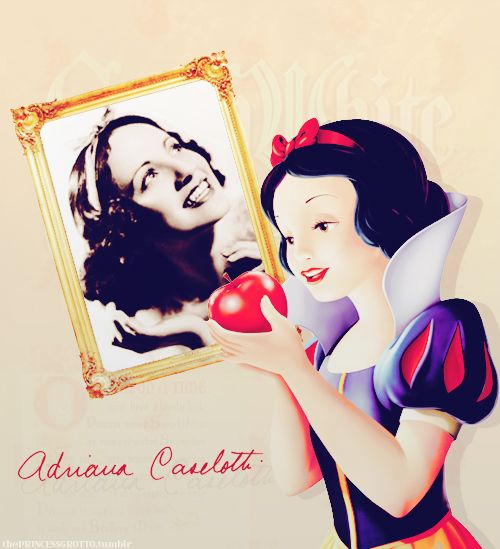 Snow White and her voice