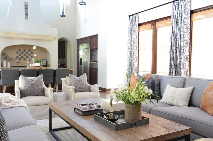 Part One: Entry, Formal Dining Room, Living Room We are so excited to share a recent design of ours, Project Shady Canyon! This home had a lot of its origi