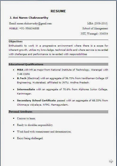 creer cv sample template example of excellent curriculum