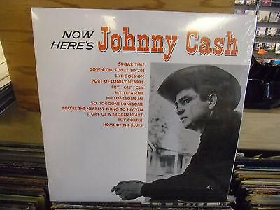 Johnny Cash Now Here's Johnny 140g vinyl LP NEW UK Import