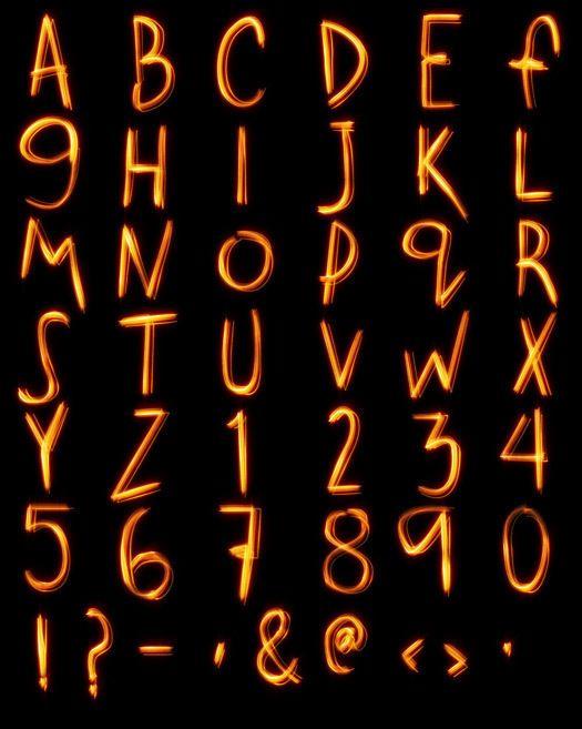 Neon Light Portrait On Behance: Neon Signs, Calligraphy, Arabic Calligraphy