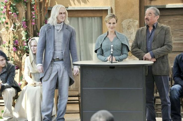 Defiance Syfy 2013-current.In the year 2046, it's a new Earth - with new rules. Over thirty years after various alien races arrived on Earth, the landscape is completely altered, terraformed nearly beyond recognition.
