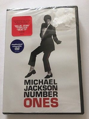 Michael Jackson - Number Ones 2003  DVD SEALED NEW 15 Hits Thriller Beat It 74645699998 | eBay