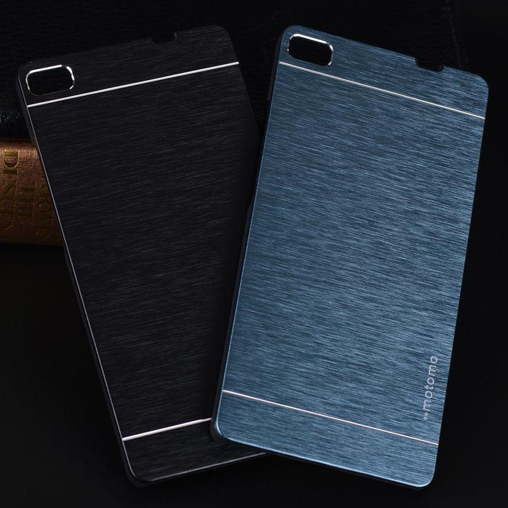 Aluminum Case For Huawei P8 Lite Case Luxury Motomo Metal Brush PC Hard Case For Huawei P9 Lite P9 P8 Accessories Phone Cases