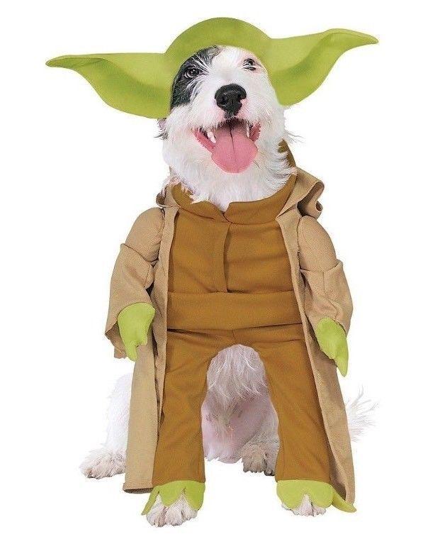 Pet Costume Star Wars Yoda Dog Size Medium  | eBay