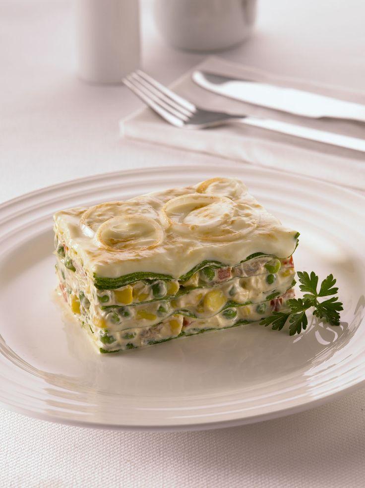 La lasaña es la estrella de la cocina italiana, prepárala con Zapallos Italianos y Crema de Verduras. ¡A disfrutar!