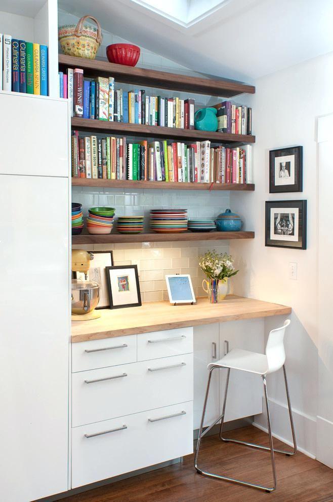 Desks Ikea Kitchen Desk Office Nook Ideas Contemporary With
