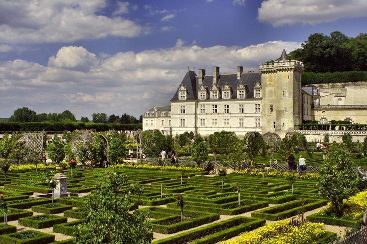 Zamek z największymi i najbardziej czarującymi ogrodami.