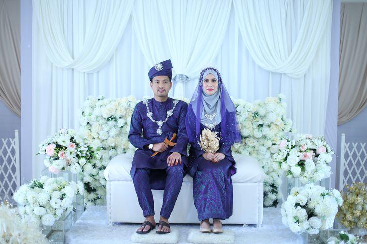 Malay Wedding Attire - Songket