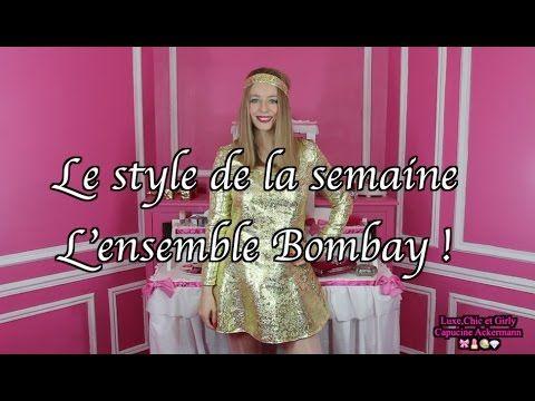"""L' ensemble Bombay """"By Capucine Ackermann"""" 🎀 😃"""