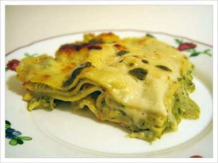 Pesto And Pea Lasagna Recipes — Dishmaps