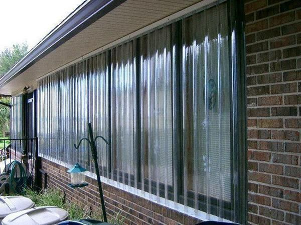 43 25 X 82 Clear Protexan Panel In 2020 Hurricane Shutters Shade House Shutters Exterior