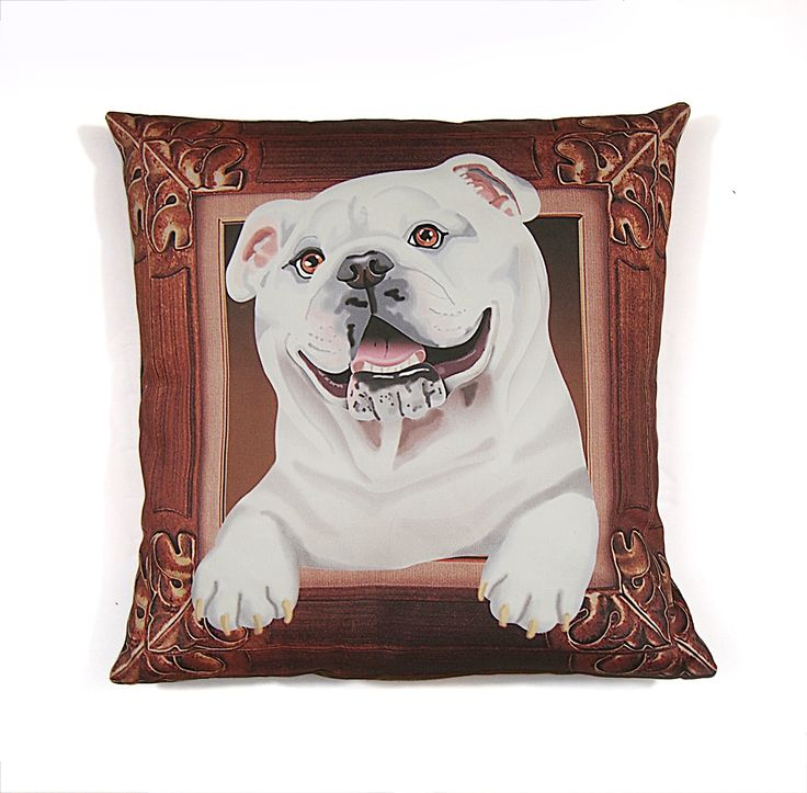 11 best Perfect Bulldog Pillows images by Deborah Mix Design on ...