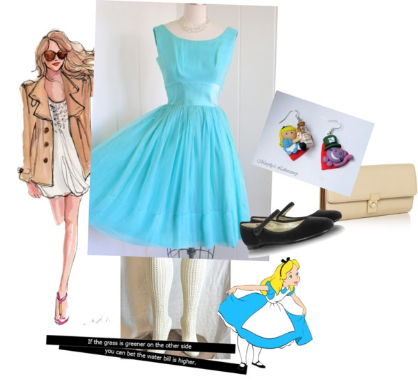 """alice@wonderland"" by mandytarragon on Polyvore"
