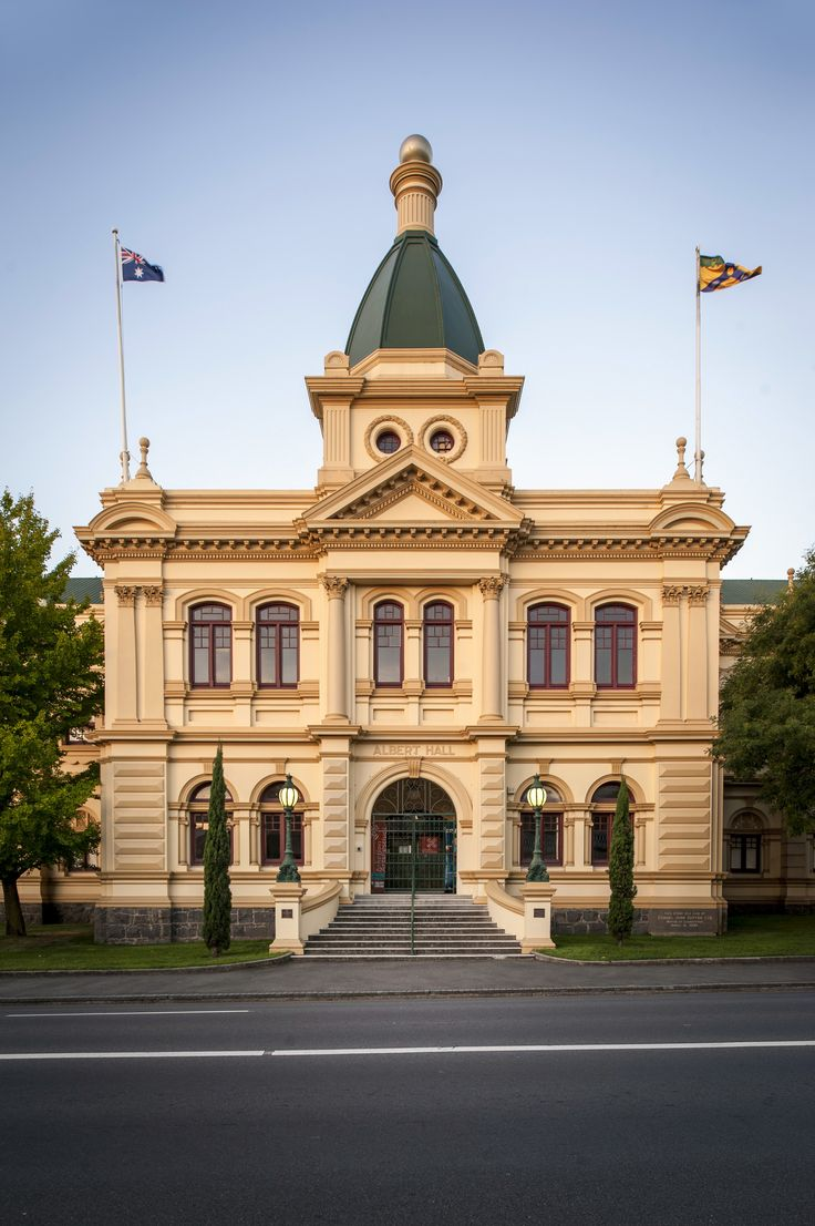 Albert Hall, one of the many intact majestic buildings in Launceston. This one is used as a convention centre.