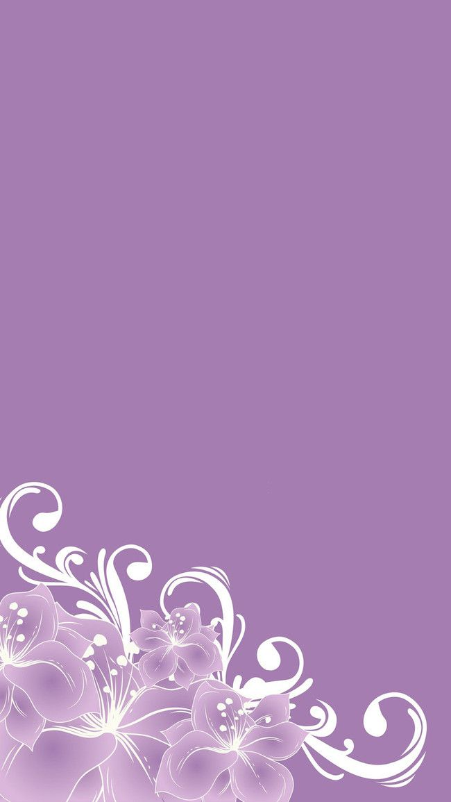 Beautiful Purple Flower Background H5 Backgrounds In 2019