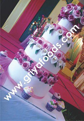 Wedding Cake Susun 3