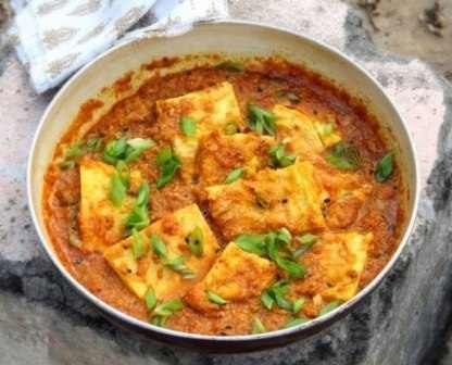 NEPAL-Nepali Omelette Egg Curry- Eggs, served any style, tend to be a staple food for breakfast ,lunch or dinner.  #HealthyEggMeals