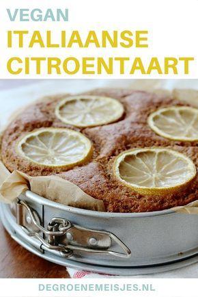 Een echte aanrader deze vegan Italiaanse citroentaart. En ook nog eens een heel makkelijk recept, dus wat let je? Bake baby, bake!