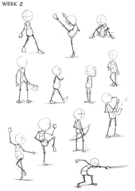 137 best How to Draw Action Poses images on Pinterest