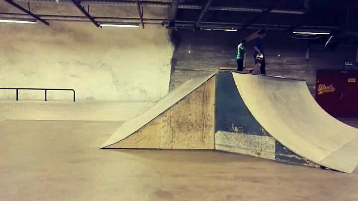Today was amazing day at Kontula's skatepark with @jyripitkanen who did nollie double flip! Holy…""