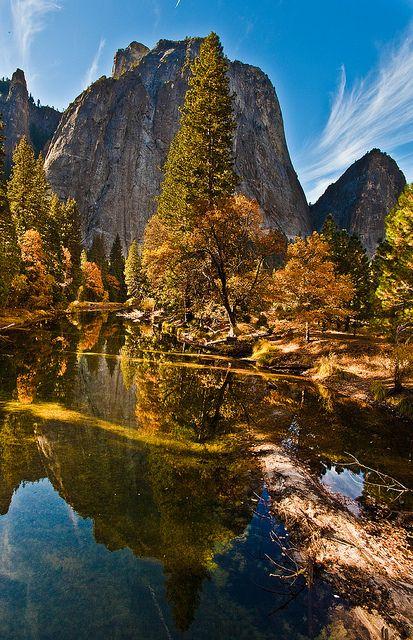 Autumn in Yosemite National Park, California