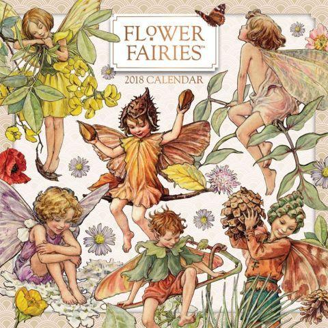 Flower Fairies 2018 Wall Calendar