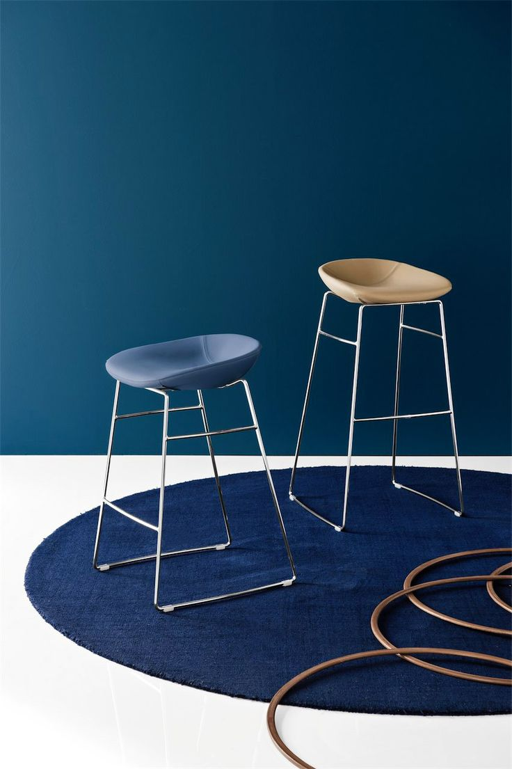 best calligaris images on pinterest  chairs coffee tables and  - calligaris  palm bar stool  available in two heights and with a range ofseat