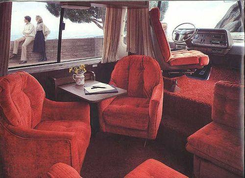 GMC Motorhome interior   Re: The GMC Motorhome: way ahead of it's time (2000JettaGLXVR6)