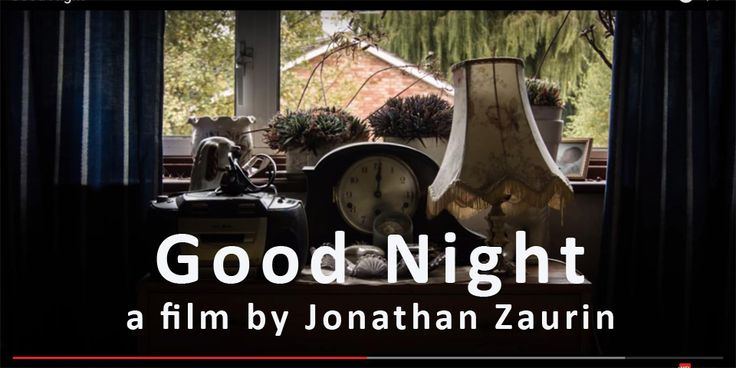 Good Night - A Short Film about Dementia, by FdA Film & Photography student Jonathan Zaurin