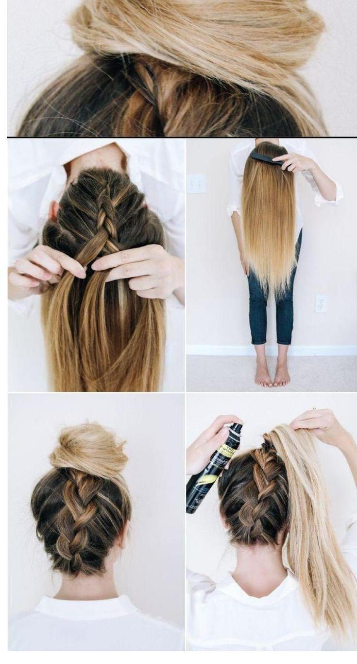 8 Einfache Frisuren Für Jeden Tag Lange Haare  Geflochtene