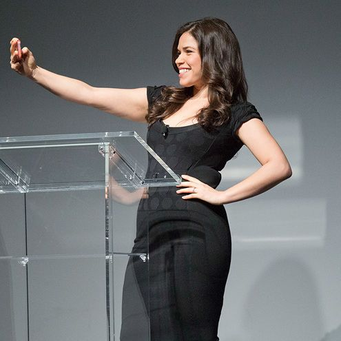 Star Tracks: Tuesday, March 10, 2015 | SELFLESS SELFIE | America Ferrera snaps a selfie on Monday while speaking at No Ceilings: The Full Participation Project in N.Y.C. The initiative, led by Hillary and Chelsea Clinton, encourages the empowerment and progress of women and girls around the world.