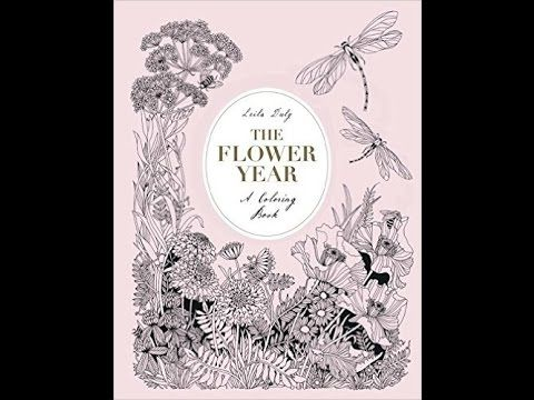 The Flower Year by Leila Duly - flip through video - YouTube