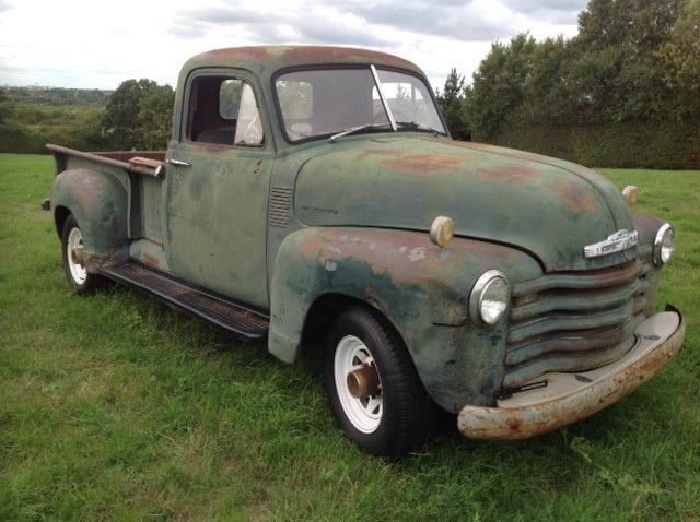 Ebay 1953 Chevy 3600 Pickup Truck Solid Californian Project Uk