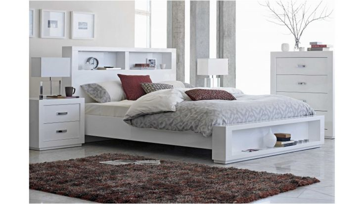 Summit Queen Bed - Beds & Suites - Bedroom - Beds
