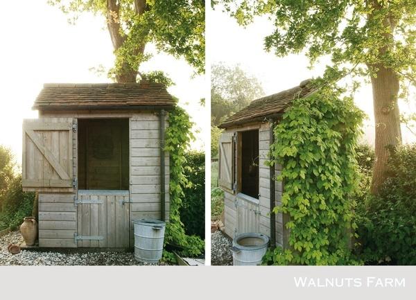Walnuts cabanes