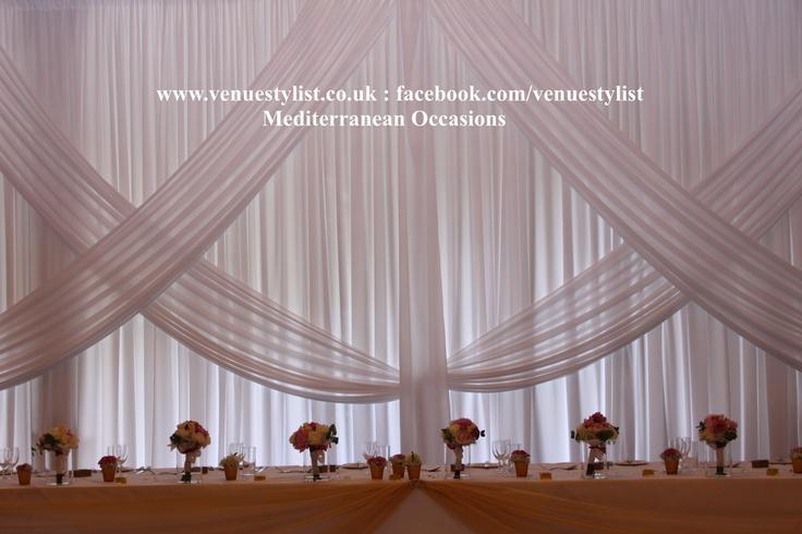 Google All Elegant Backdrops: Wedding Backdrop Drape Criss Cross