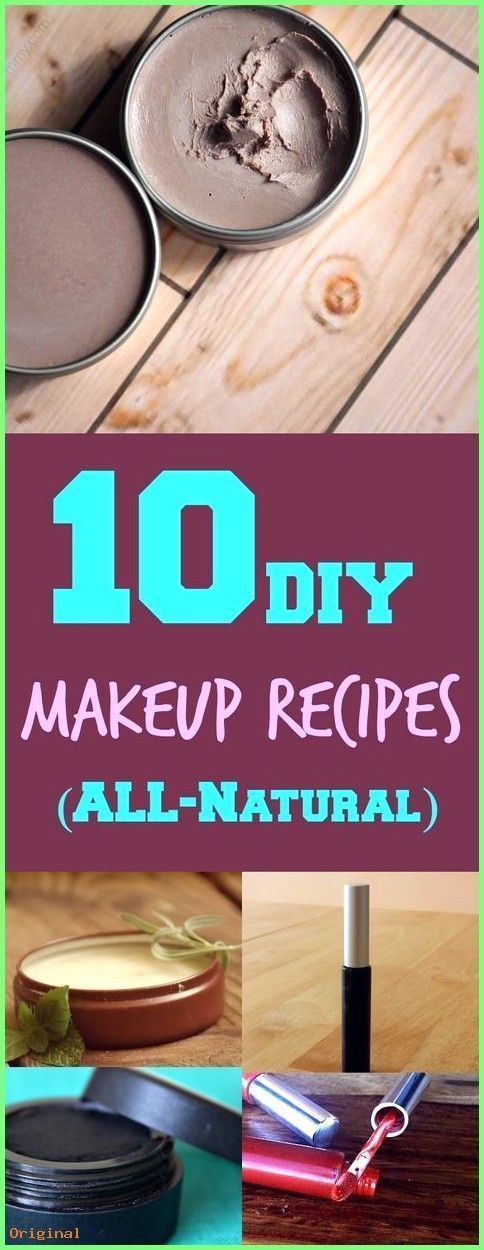 # Skincare Recipes-50 + Skin Care - 10 Natural DIY Makeup Recipes | Even...  -  Hautpflege-Rezepte