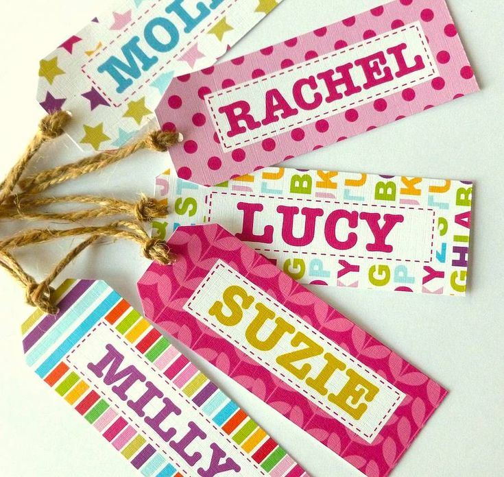 134 best Personalise gift tags for all occasions. images on ...