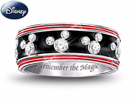 a mickey mouse ring to turn any fashionistas head - Mickey Mouse Wedding Ring