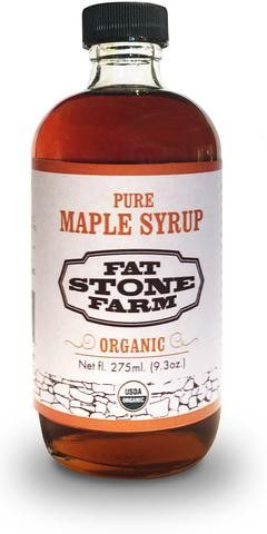 Organic Maple Syrup, case of 12