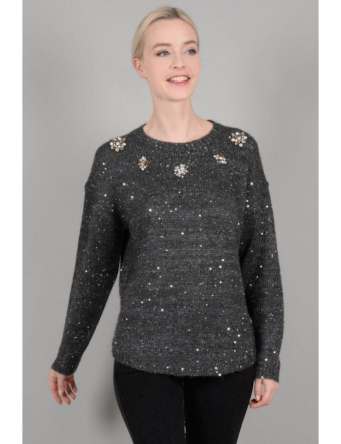 d54771250e Sparkly sweater - Molly Bracken E-Shop - Collection Printemps Été 2018